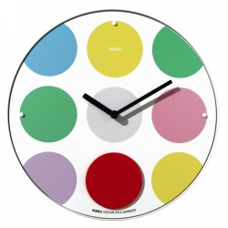 Bubble pendulum wall clock