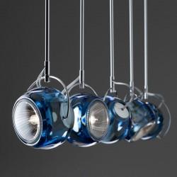 Suspension lamp in crystal - Beluga Colour