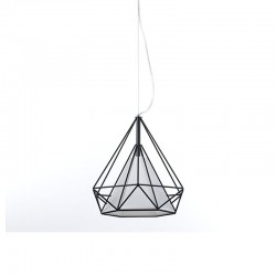 Pendant lamp in metal