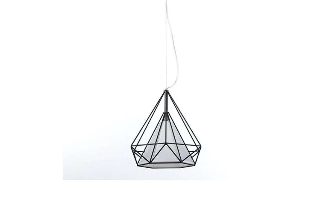 Pendant lamp in metal