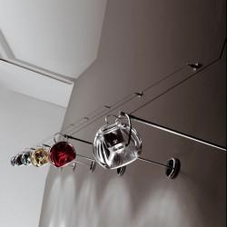 Faretto da parete in metallo e vetro - Beluga Colour