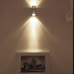 Applique in cristallo 2 luci - Cubetto