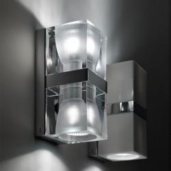 Applique 2 lights - Cubetto