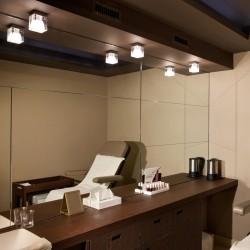 Faretto in vetro da soffitto - Cubetto