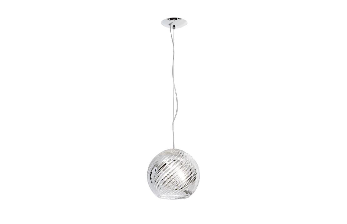 Sospensione Lamp in glass - Swirl