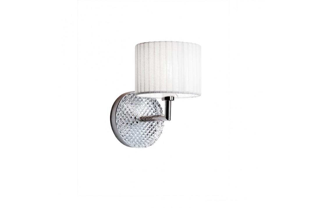Diamond, crystal wall lamp