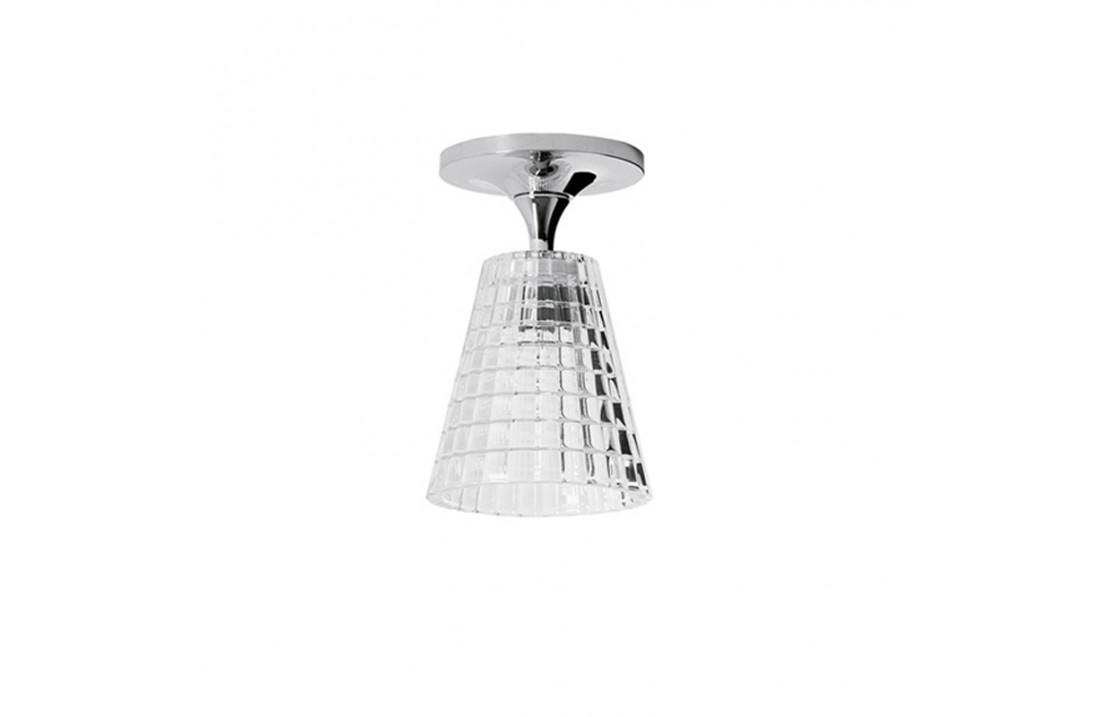 Lampada da Soffitto in vetro e metallo - Flow