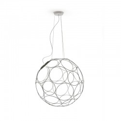 Giro, metal suspension lamp