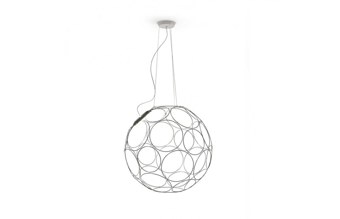 Giro, metal suspension lamp