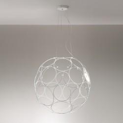 Lampada a sospensione LED in metallo - Giro