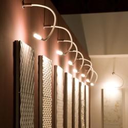 Lampada da parete/soffitto snodabile - Snake