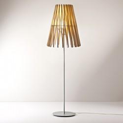 Stick Lampada da terra in legno e metallo