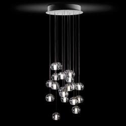 LED 10 spot Pendant lamp Multispot