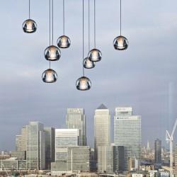 Lampada LED a sospensione 10 luci Multispot