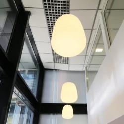 Lampada a sospensione in vetro - Lumi Baka