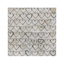 Hearts, acrylic  painting...