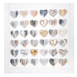 Hearts, acrylic painitng on...