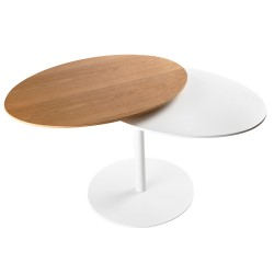 Duo,  metal table with...