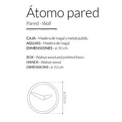 Orologio da parete Atomo