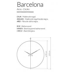 Orologio da parete Barcelona
