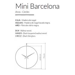 Orologio da parete Mini Barcelona