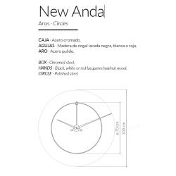 Orologio da parete New Anda
