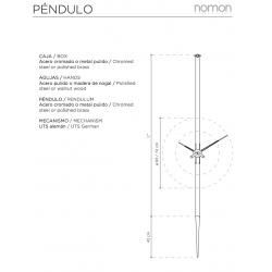 Orologio da parete Pendulo