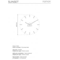 Orologio da parete Sunset
