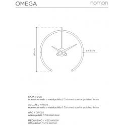 Orologio da tavolo Omega