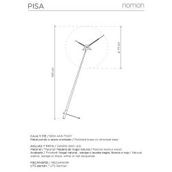 Orologio da terra Pisa