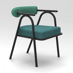 Baba armchair in fabric