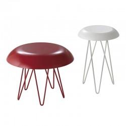 Meduse coffee table in metal