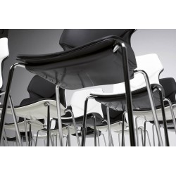 Stackable chair in polypropylene - Stereo