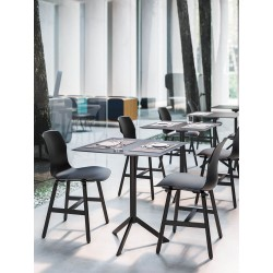Metal chair in polypropylene - Stereo Metal