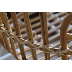 Natural rattan oudoor armchair - Raphia