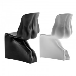 Him & Her set 2 chairs in polyethylene