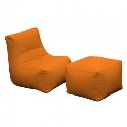 Ecoleather Kid lounge chair - Morfino