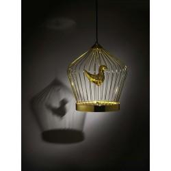 Suspended lamp in metal - Twee T. 1