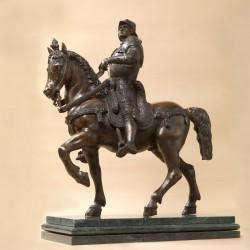Statua in bronzo su base in...