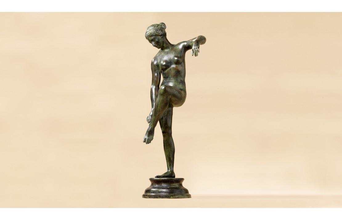 Statua in bronzo - Venere Danese