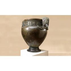 Scultura in bronzo - Vaso di VIX