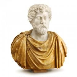Scultura in marmo - Busto...
