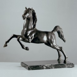 Scultura in bronzo e marmo...