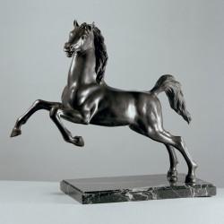 Rampant Horse bronze and...