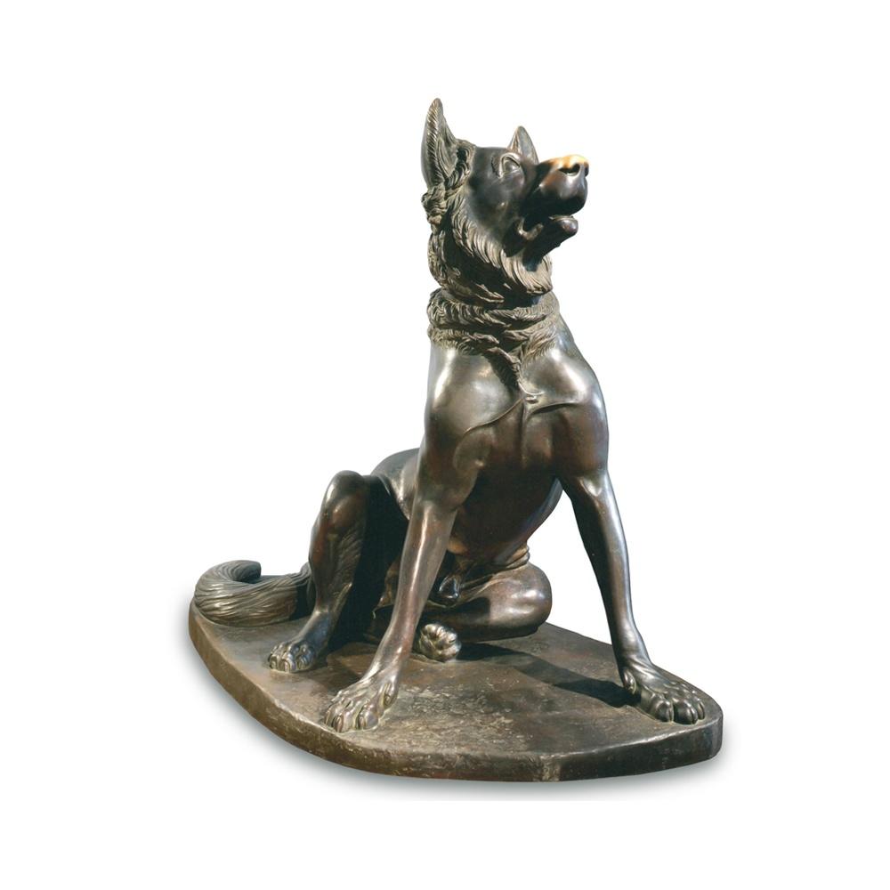 Statua in bronzo - Cane Molosso
