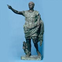Augustus Caesar- bronze...