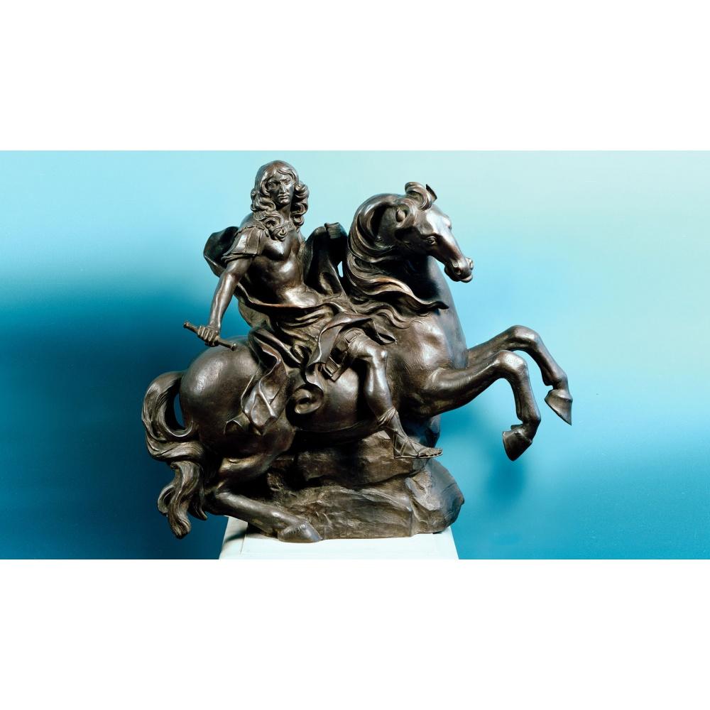 Statua in bronzo - Monumento Equestre