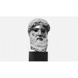 HEAD OF POSEIDON, COPY OF THE ORIGINAL, NATIONAL MUSEUM OF