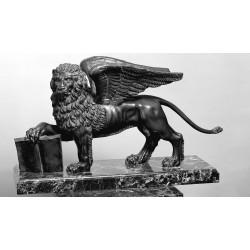 Statua in bronzo - Leone...