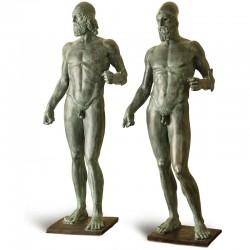 Statua in bronzo - Coppia...